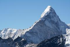 Ama Dablam 6814m z Kala Patthar 5650m