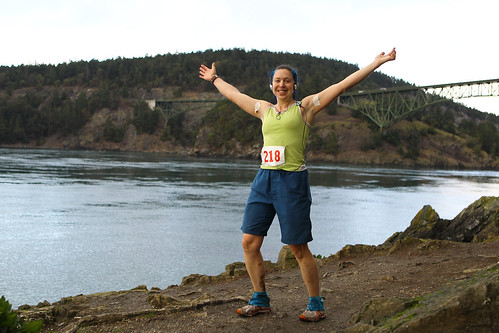At Mile 29 of Deception Pass 50K