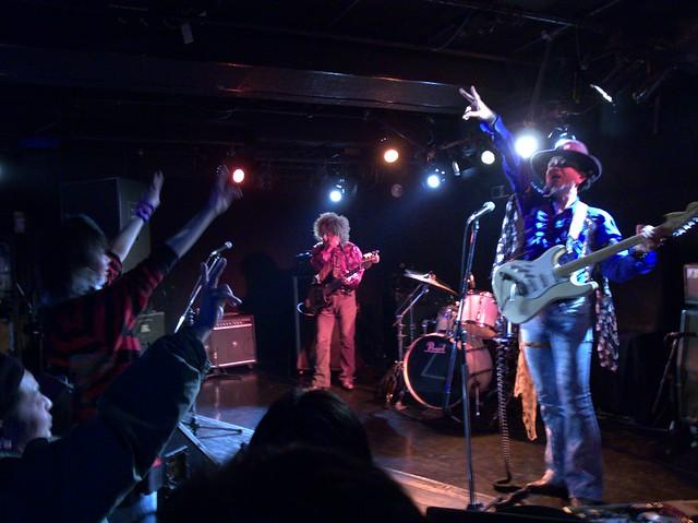 JIMISEN live at Adm, Tokyo, 05 Jan 2014. GR084
