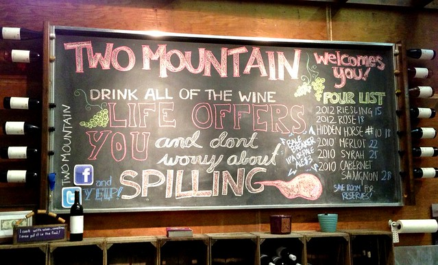 two mountain winery