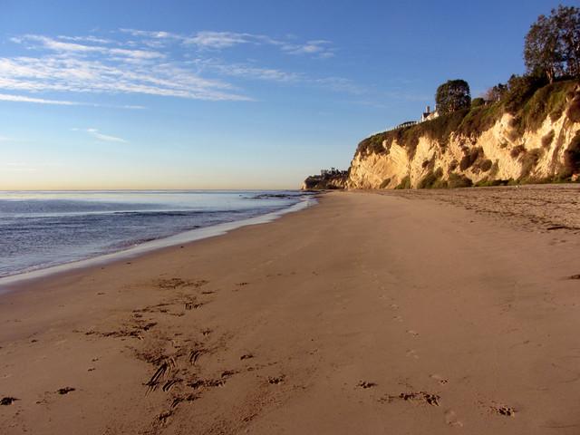 beach morning