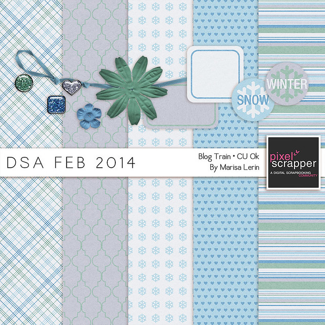 DSA February 2014 Blog Train by Marisa Lerin