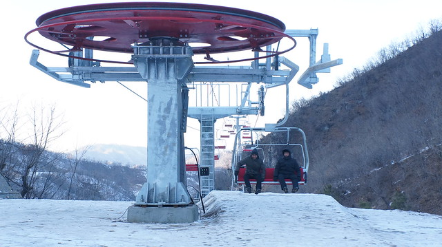 Masik Pass Ski Resort in North Korea