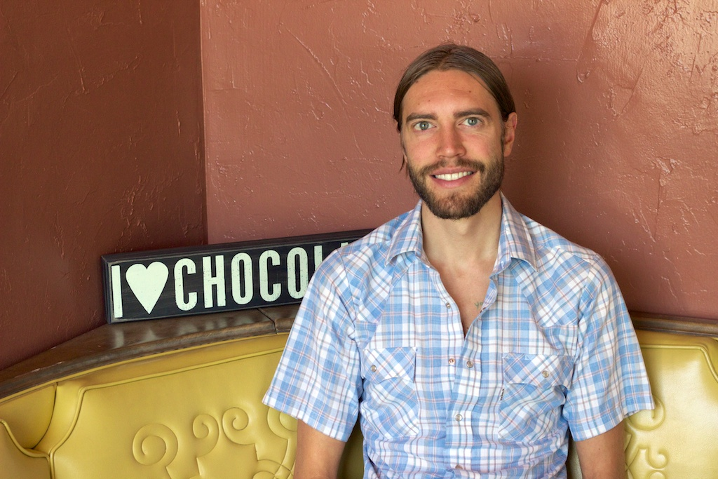 AJ Wentworth of The Chocolate Conspiracy
