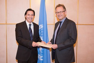 NEW PERMANENT REPRESENTATIVE OF SLOVENIA PRESENTS CREDENTIALS