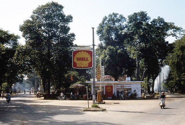 1968 The only petrol station in Vung Tau
