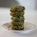 Coconut Matcha cookies @bashocafe