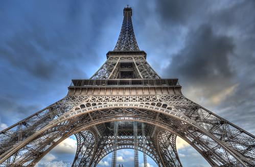 Eiffel Tower HDR