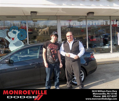 Happy Anniversary to John Bernard Jr on your 2013 #Dodge #Dart from James Platt  and everyone at Monroeville Dodge! #Anniversary by Monroeville Dodge