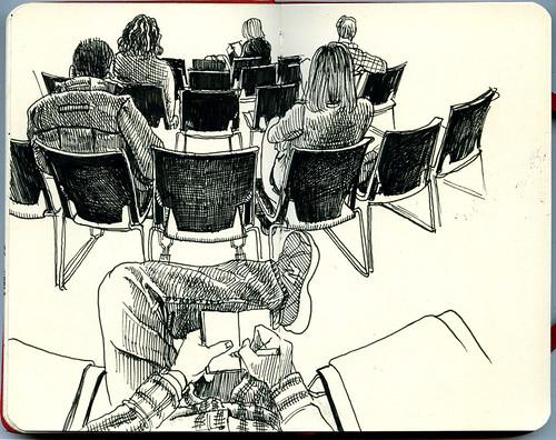 Jury Waiting Room