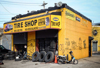 Bushwick Tire shop
