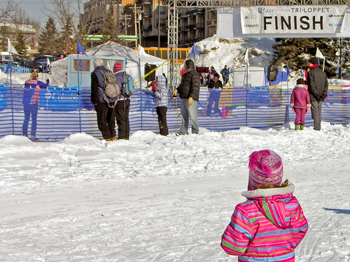 2014 City of Lakes Loppet Finish line