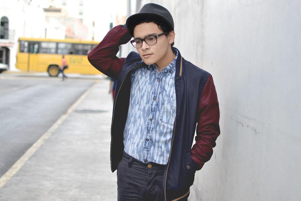 Izael Garrido Versity Jacket