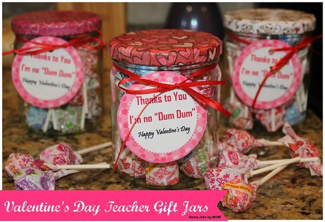 Valentine S Day Teacher Gift Jars Craft Home Jobs By Mom