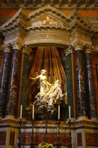 Church of Santa Maria della Vittoria, Rome, Italy