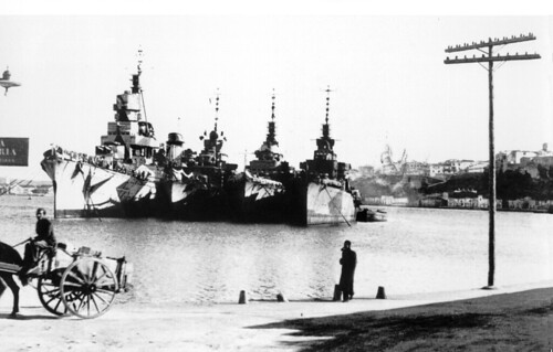 flota italiana en sa colarsega