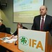 21/2/14. Minister for Finance Michael Noonan addresses IFA President Eddie Downey and delegates at an IFA Executive council meeting where an Agri-taxation review and sector expansion plans were discussed.. Picture:  Finbarr O'Rourke. NO REPRO FEE