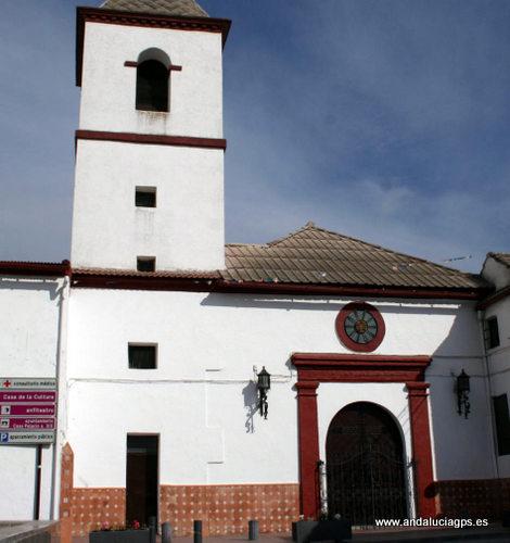 Granada - Deifontes - Iglesia de San Martín - 37 19' 31 -3 35' 38