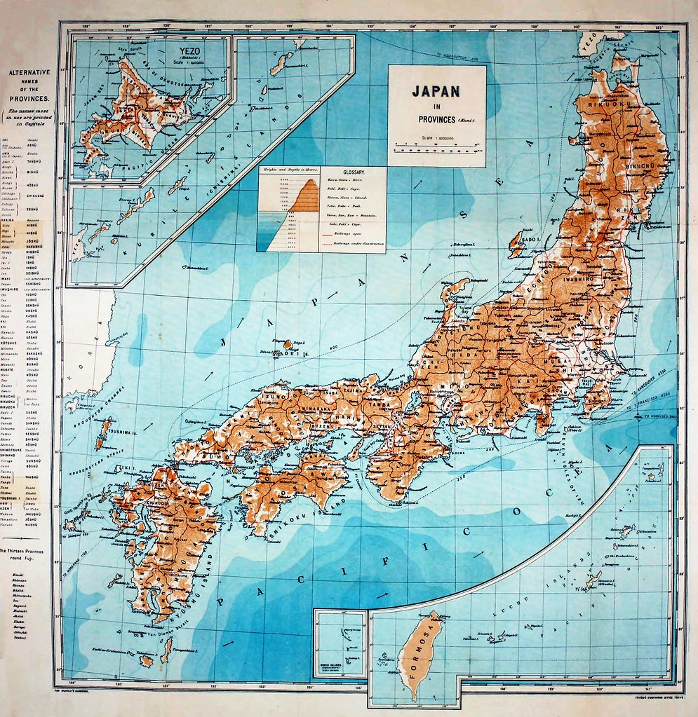 Things Japanese Map