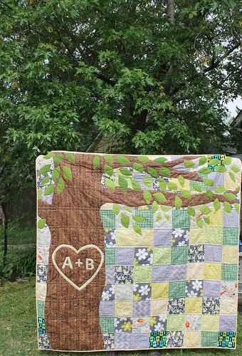Wedding Tree Signature Quilt