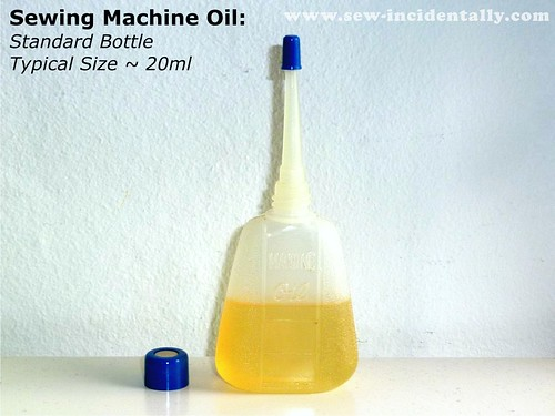 01 - Sewing Machine Oil - Standard, Small Size Bottle (20ml)