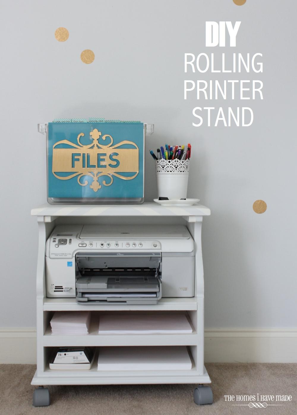 Rolling Printer Cart-022