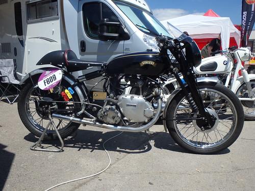 Vincent Comet Racer 1954 500cc OHV