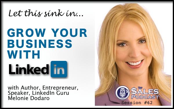 Do LinkedIn marketing right with inbound selling and social media marketing expert, Melonie Dodaro.