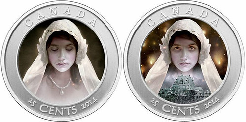 Haunted Canada Ghost Bride obverse
