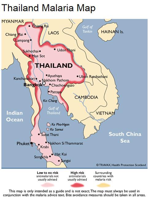 Vacinas para tomar antes da viagem à Tailândia