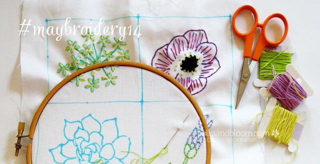 Maybroidery stitchalong 2014