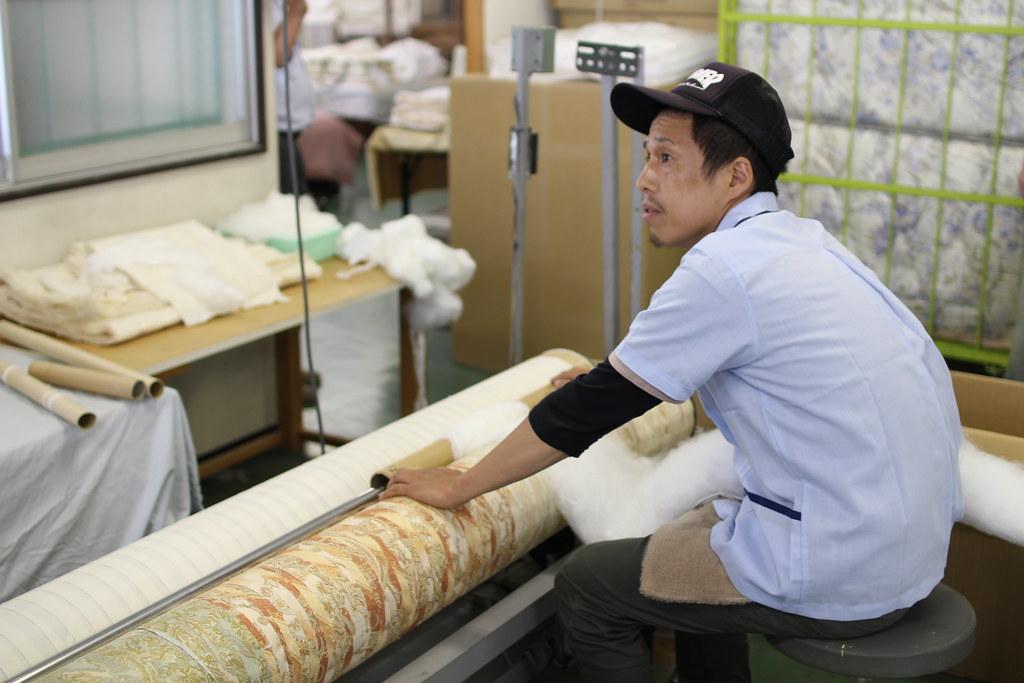 丸三綿業工場見学13