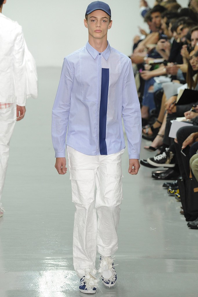 SS15 London Richard Nicoll017_Charlie James(VOGUE)