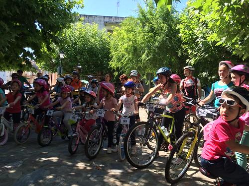 Fotos de la Ruta ciclista organizada por el AMPA Leandro Alejano