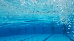 Luchtbelletjes onderwater