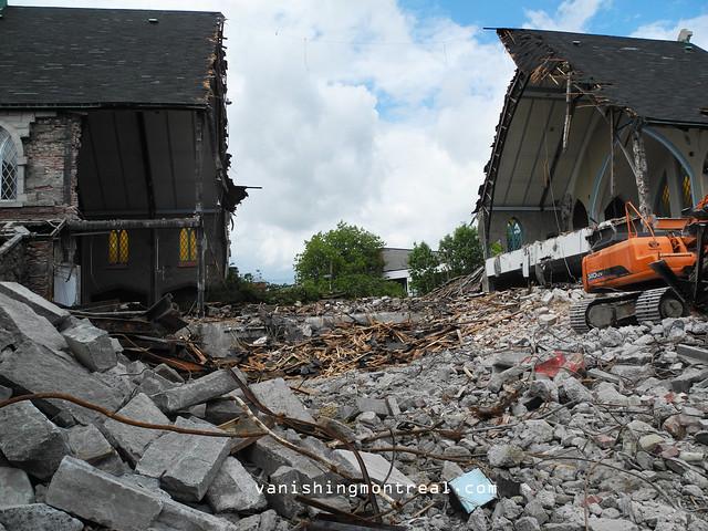 Eglise Notre-Dame-de-la-Paix demolition 6/06/14 18