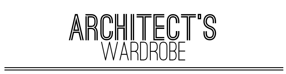 Architect's Wardrobe