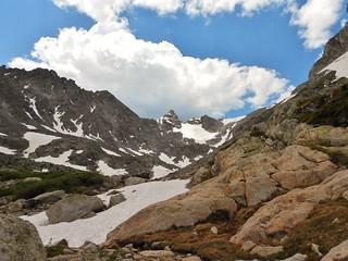 Last Glance at Navajo Peak