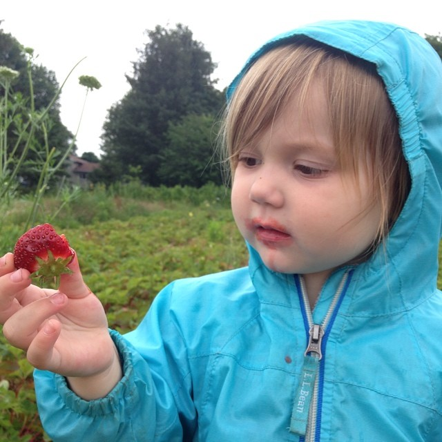 Strawberry-face.