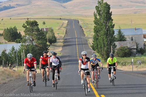 Treo Bike Ranch trip day 3 - Hardman to Columbia River-3