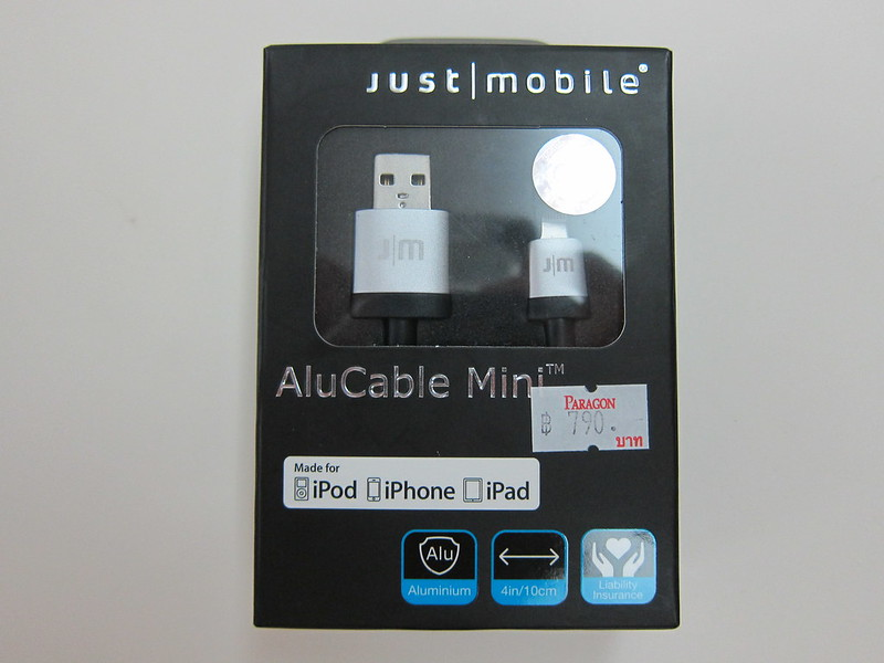 Just Mobile AluCable Mini - Box Front