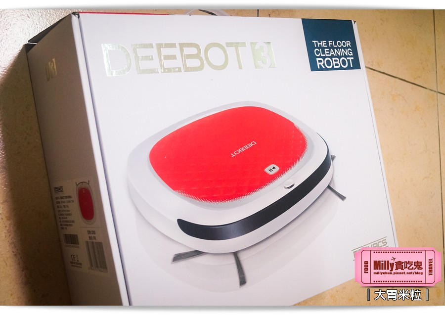 Ecovacs智慧吸塵機器人D350001