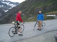 Greg & Mike about to cycle ahead.. Image