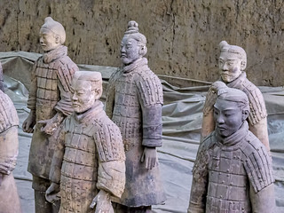 Image of Terracotta Warriors.