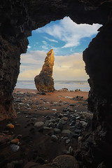 Sea Stack, Chemical Beach, North East, UK