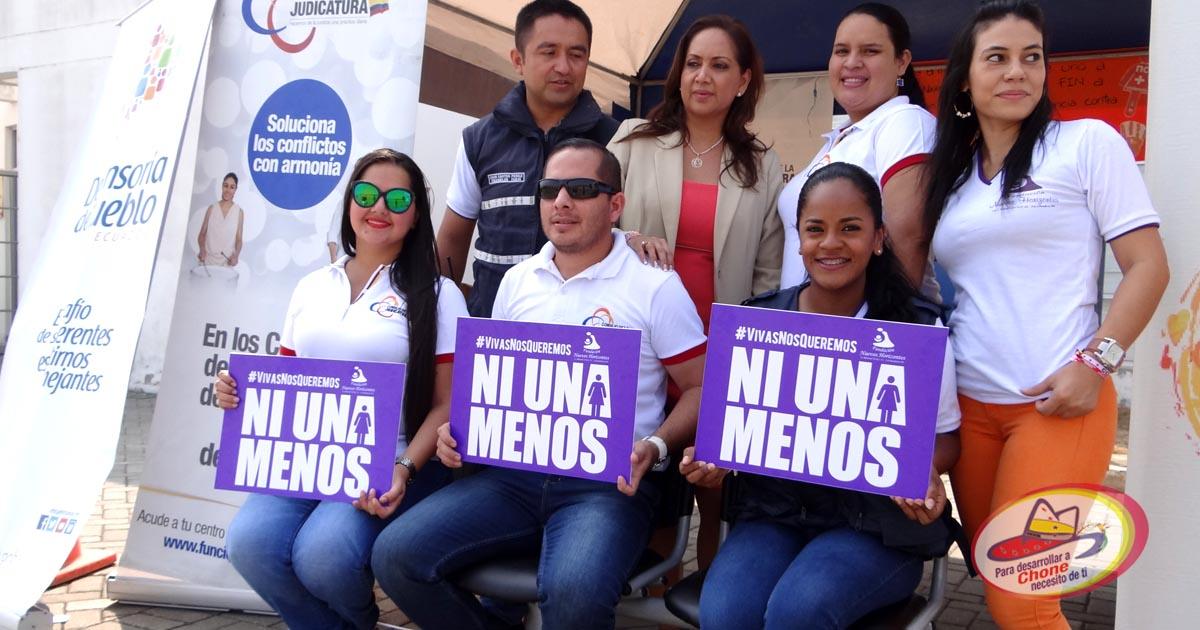 Casa abierta en la UVC por la no violencia a la mujer