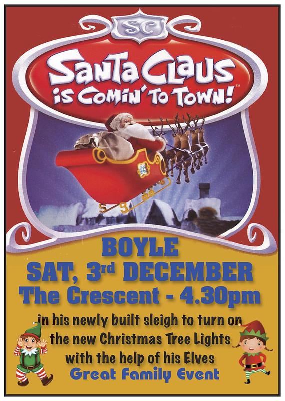 Santa Boyle Lights