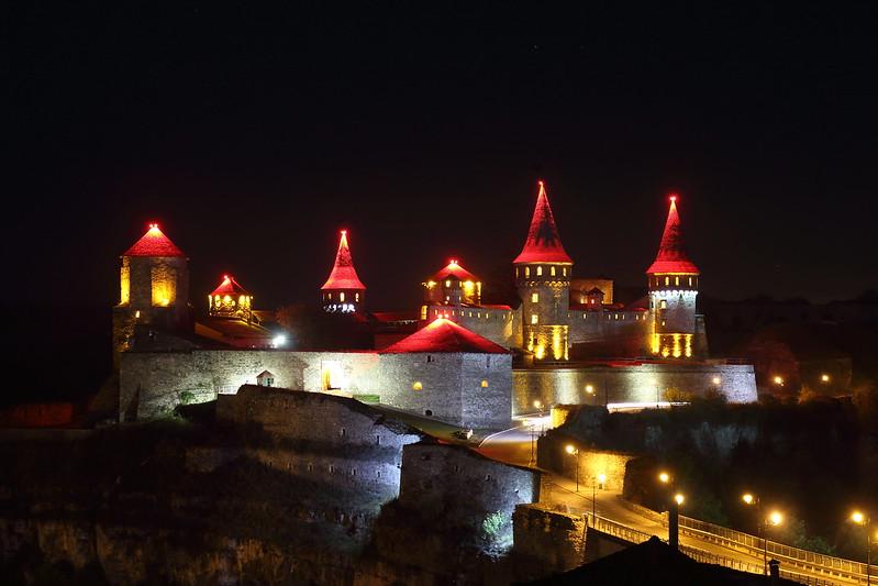 2016-10-14 Ukraine. Kamianets-Podilskyi Castle