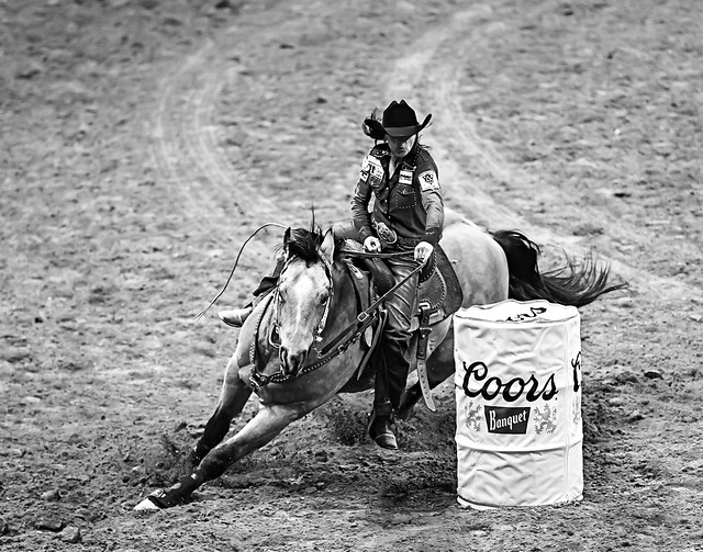 024693629-83-2016 NFR Cowgir Racing the Wind-2-Black and White