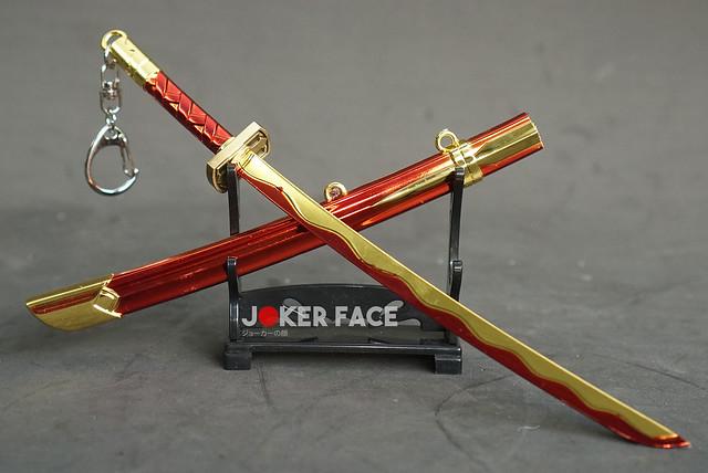Kiếm Yasuo huyết nguyệt 22cm (Red ver.) - Liên minh huyền thoại